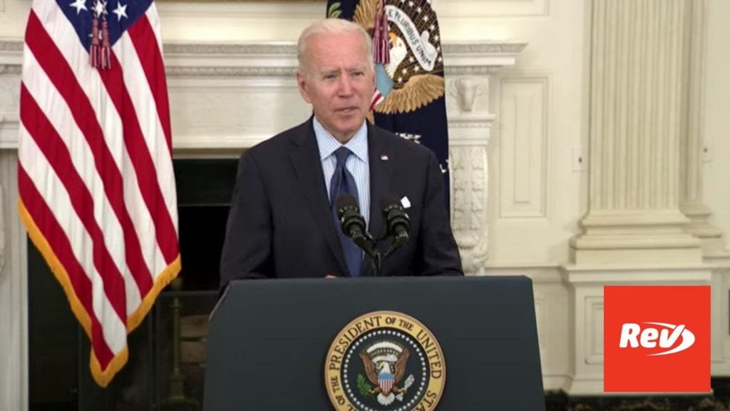 Joe Biden Speech Transcript May 4: COVID-19 Vaccine Distribution Updates