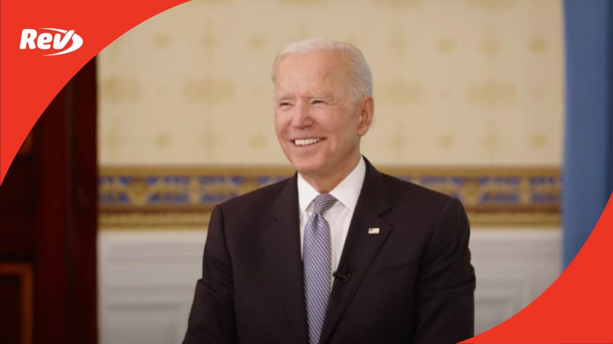 Joe Biden & Dr. Fauci COVID-19 Vaccine YouTube Town Hall Transcript