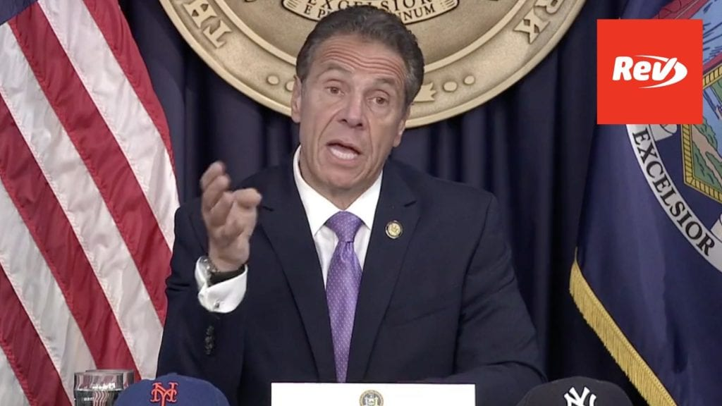 New York Gov. Andrew Cuomo COVID-19 Press Conference Transcript May 5