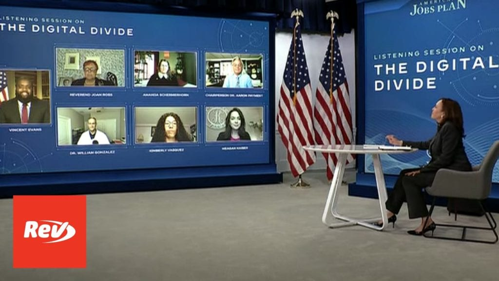 Kamala Harris Digital Divide, Internet Access Roundtable Briefing Transcript