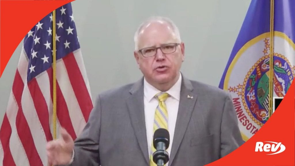 Minnesota Governor Tim Walz COVID-19 Press Conference Transcript: Mask Mandates to End July 1