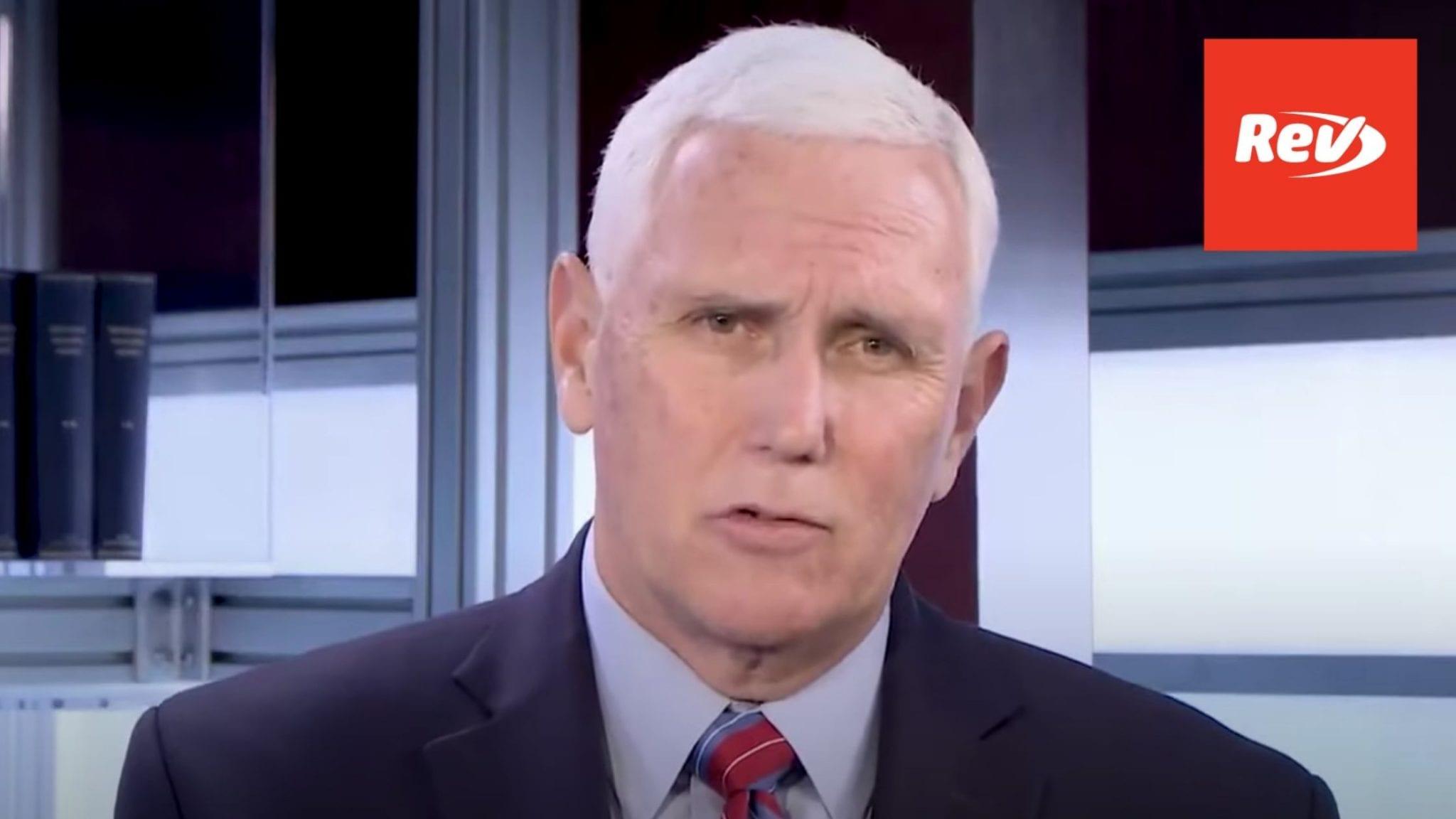 """Mike Pence National Prayer Day Speech Transcript: """"Let's Pray for America"""""""