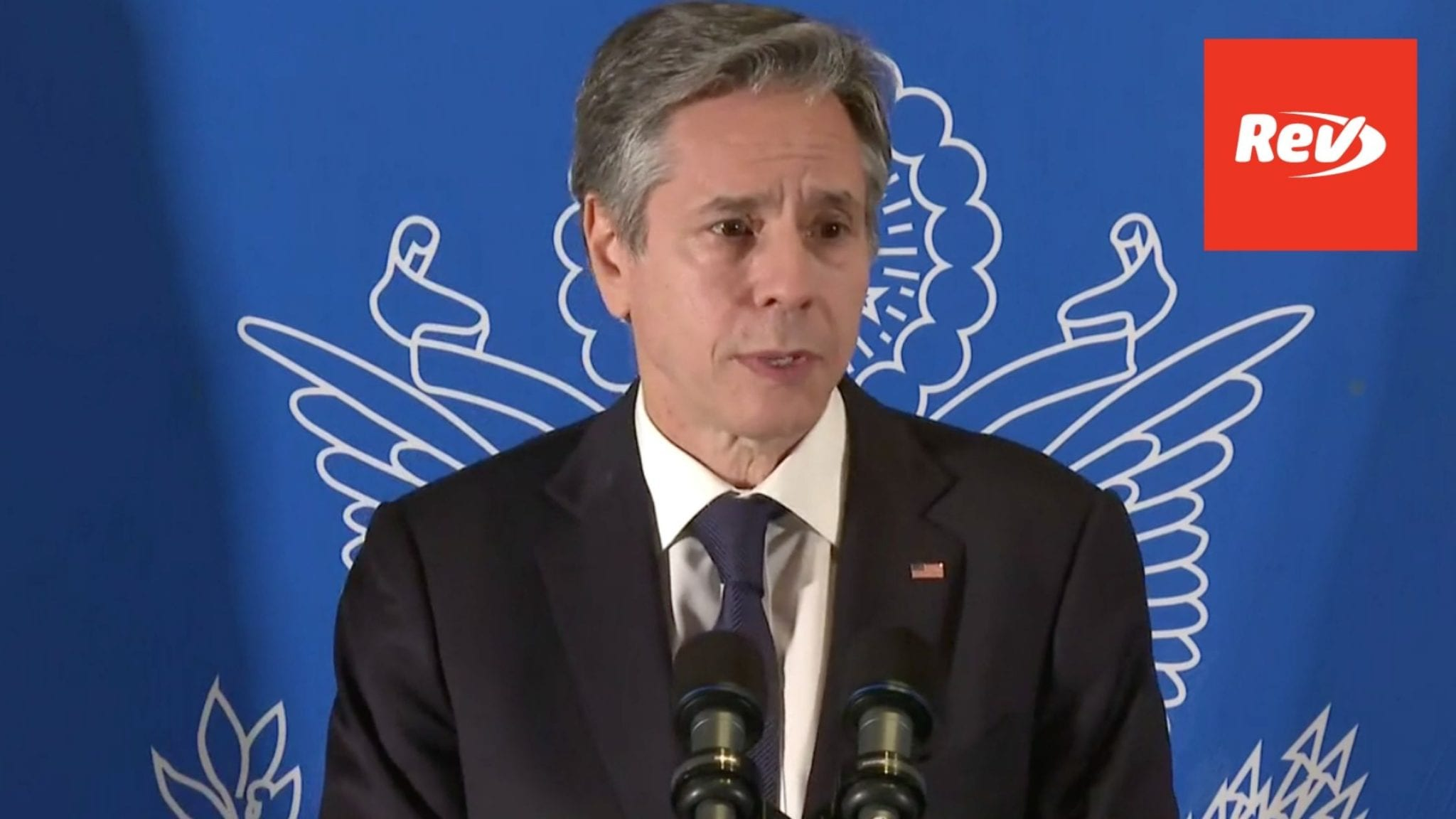 Antony Blinken Press Conference Transcript After Meeting with Israeli & Palestinian Leaders