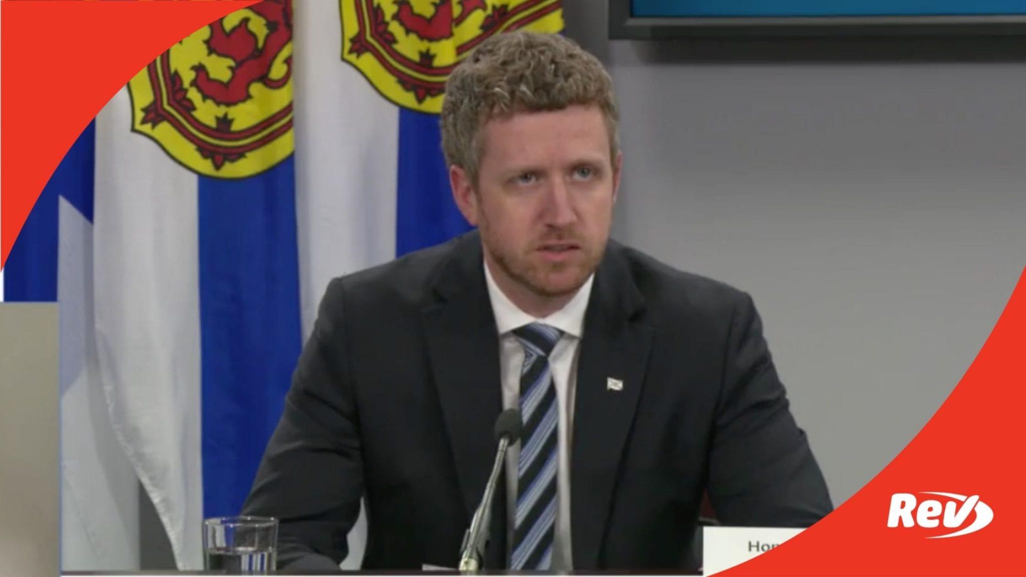 Nova Scotia Canada COVID-19 Press Conference Transcript May 7