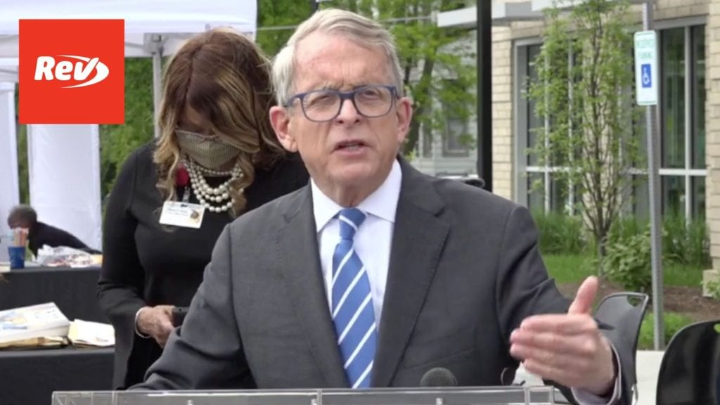 Ohio Gov. Mike DeWine COVID-19 Press Conference Transcript May 7