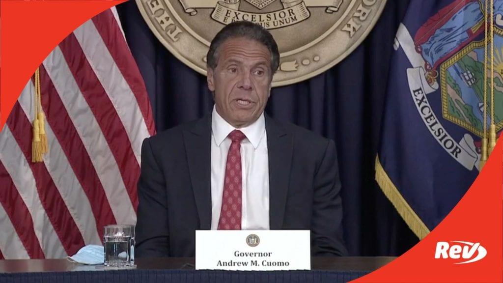 New York Gov. Andrew Cuomo COVID-19 Press Conference Transcript May 26
