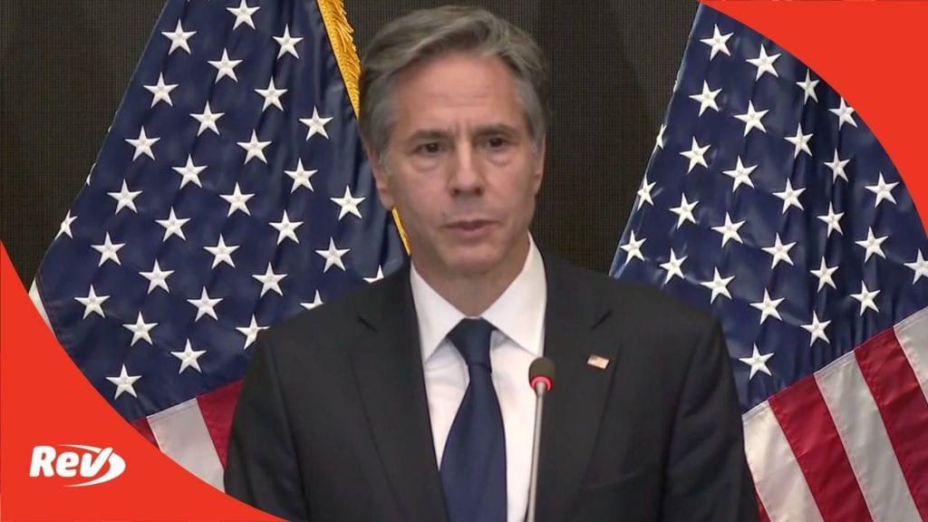 Antony Blinken Jordan Visit Press Conference Transcript May 26