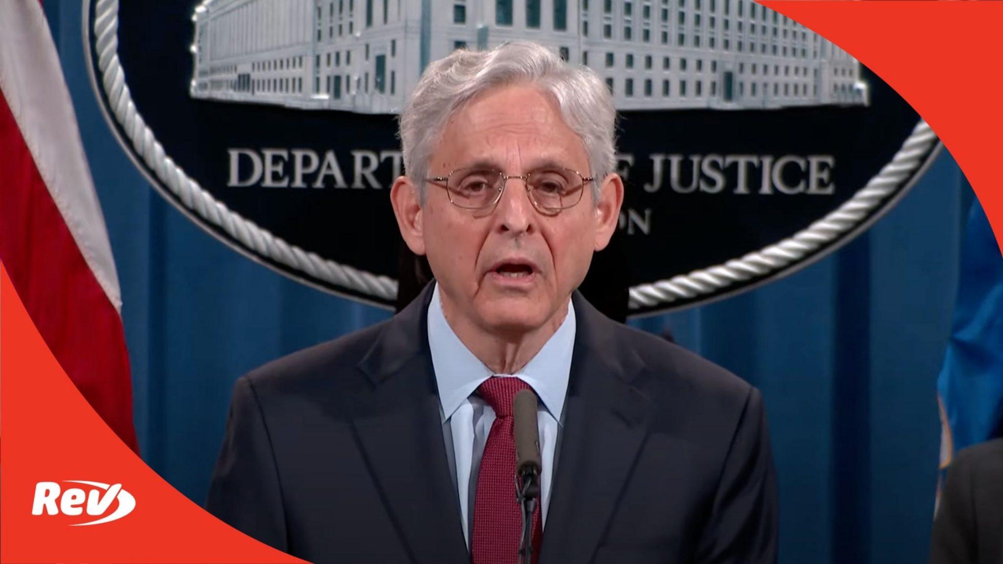 DOJ Press Conference Voting Rights Georgia Lawsuit