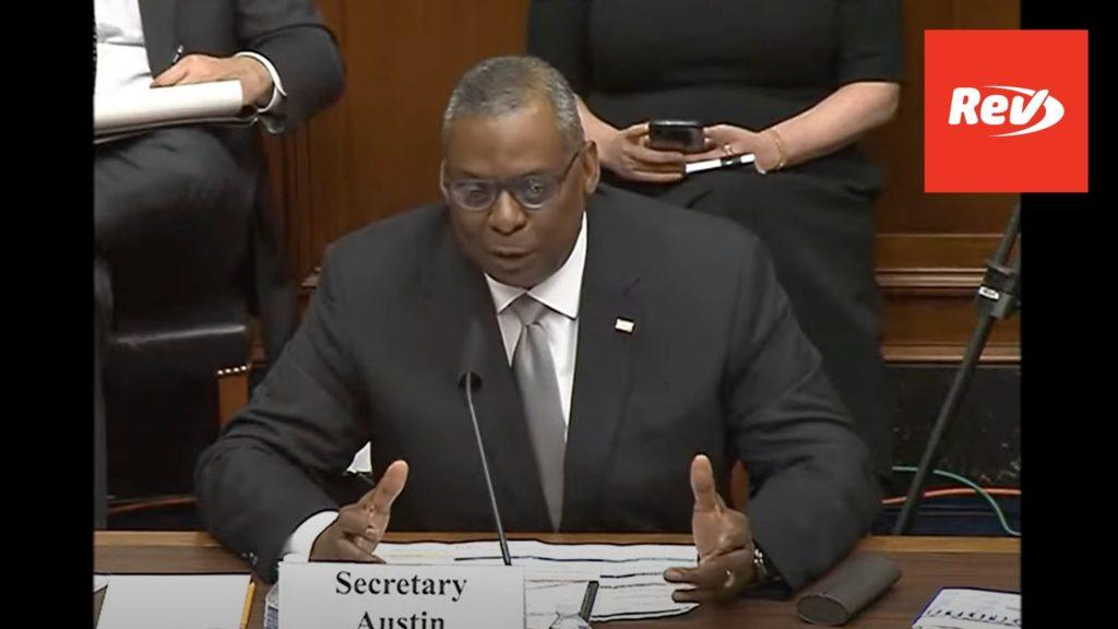 Defense Secretary Austin, Gen. Mark Milley testify on 2022 budget request