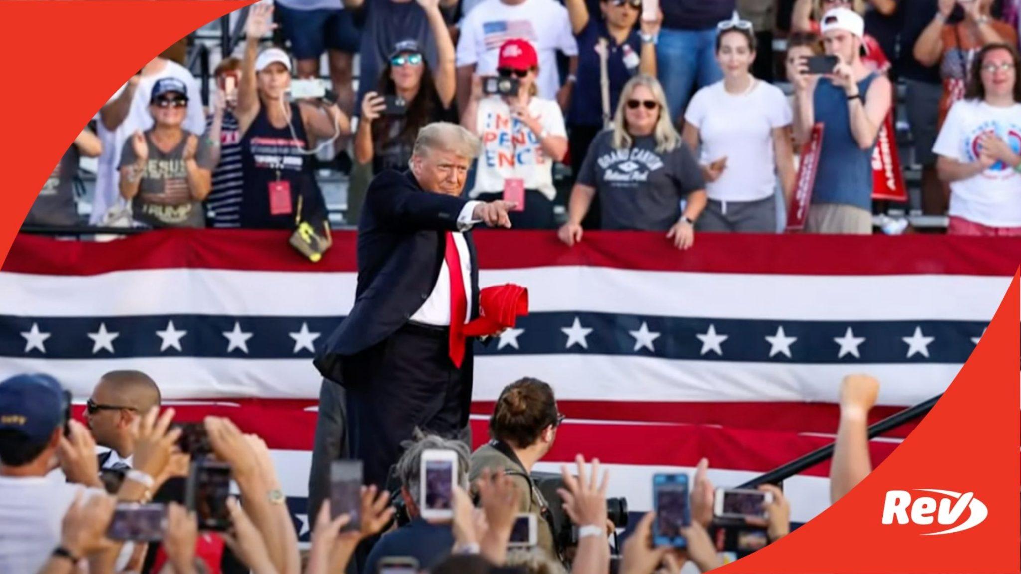 Donald Trump Rally Speech Wellington Ohio
