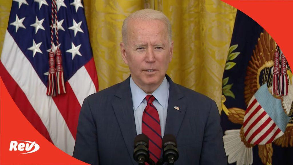 Joe Biden Speech on Bipartisan Infrastructure Bill