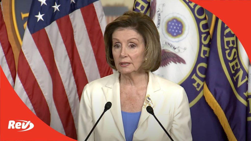 Nancy Pelosi Press Conference June 24