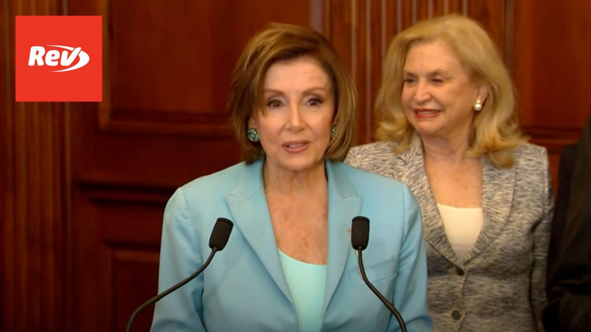 Nancy Pelosi Weekly Press Conference June 17