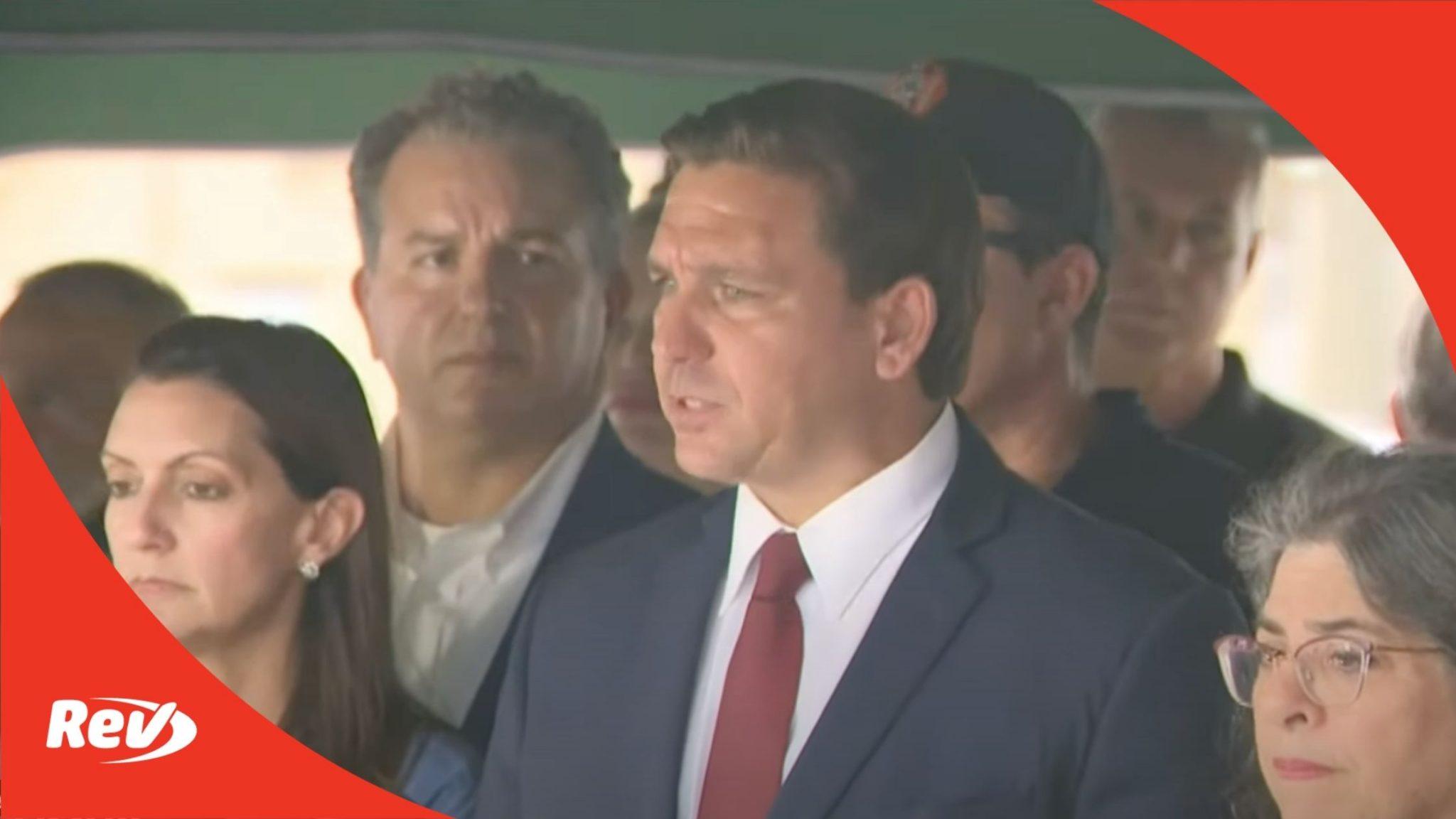 Ron DeSantis Press Conference on Miami Building Collapse