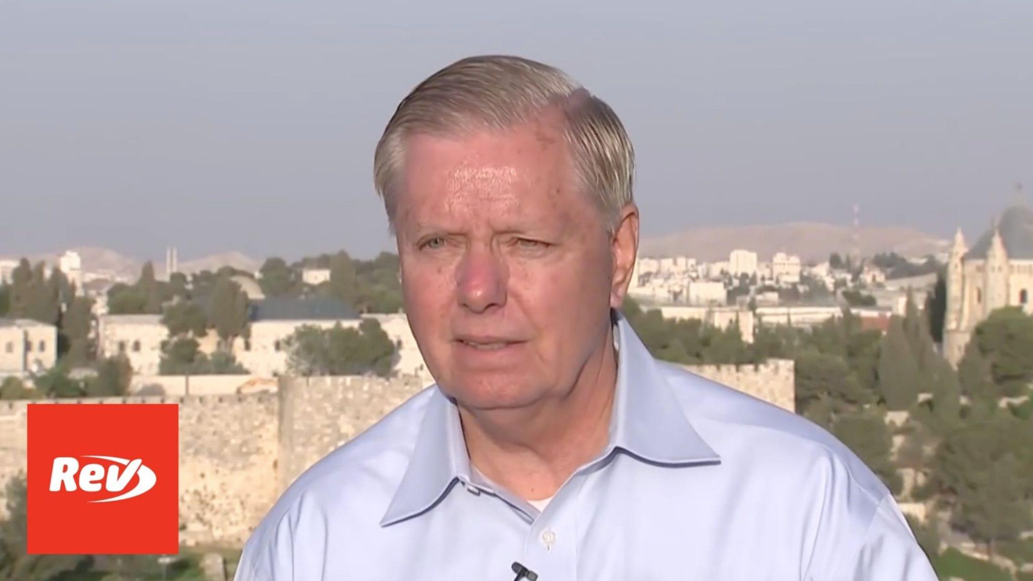 Lindsey Graham Jerusalem Press Conference Transcript June 1