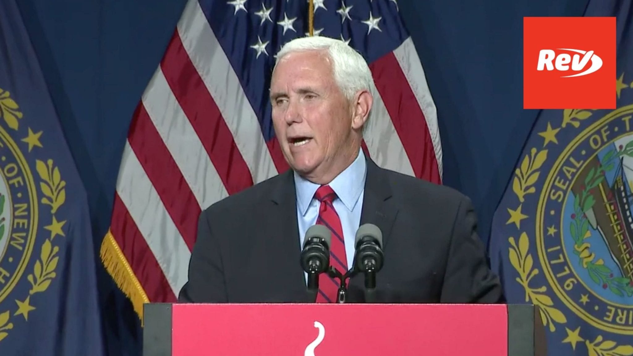 """Mike Pence Speech Transcript on Trump: May Never """"See Eye To Eye"""" on January 6"""