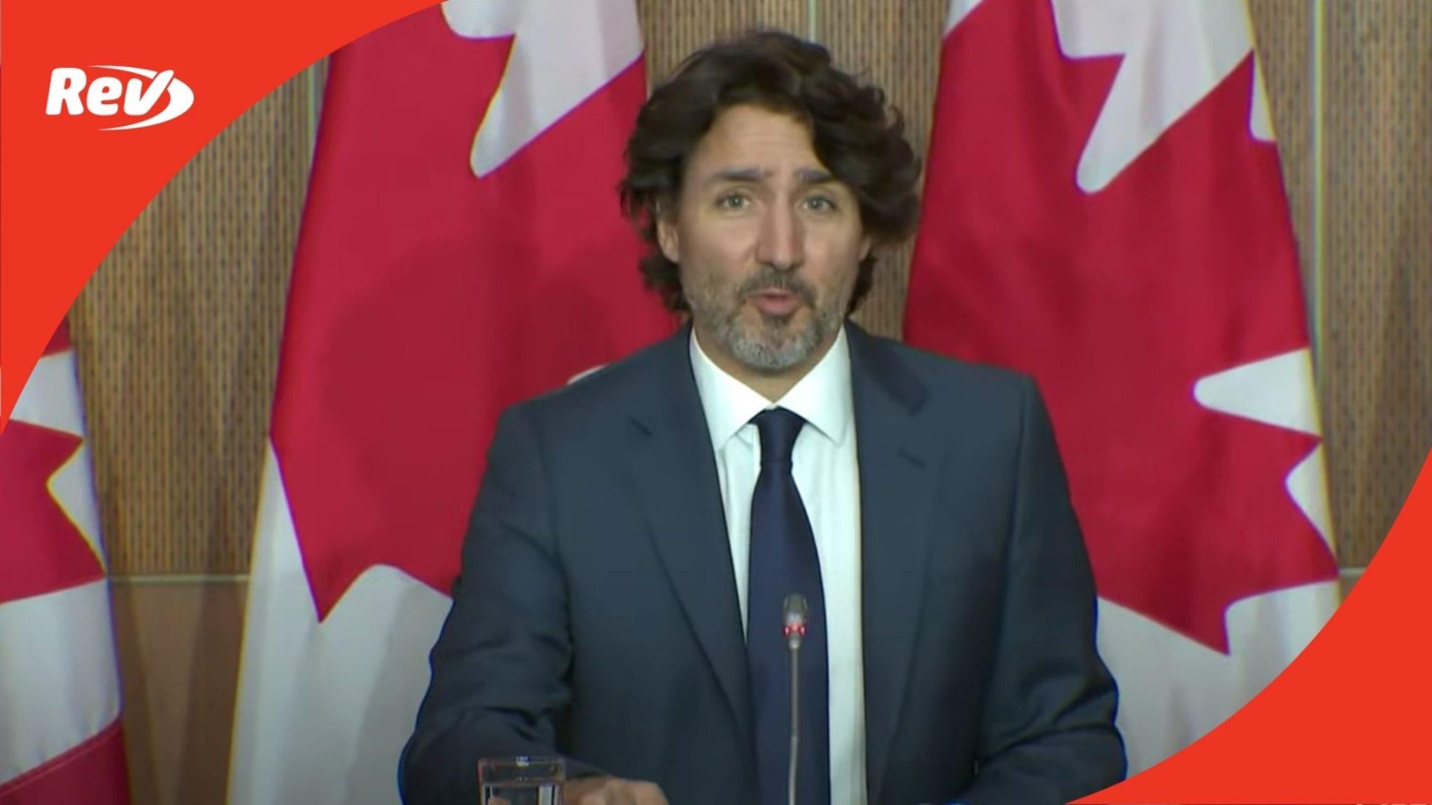 """Justin Trudeau Press Conference Transcript: Family Killed in London """"Terrorist Attack"""""""