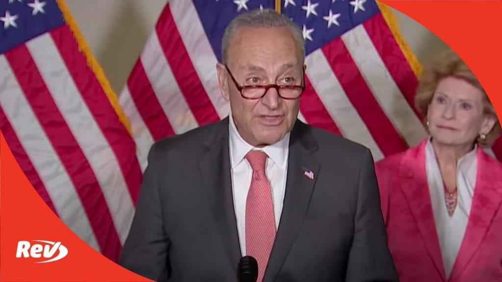 Chuck Schumer, Senate Democratic Leadership Press Conference Transcript June 8