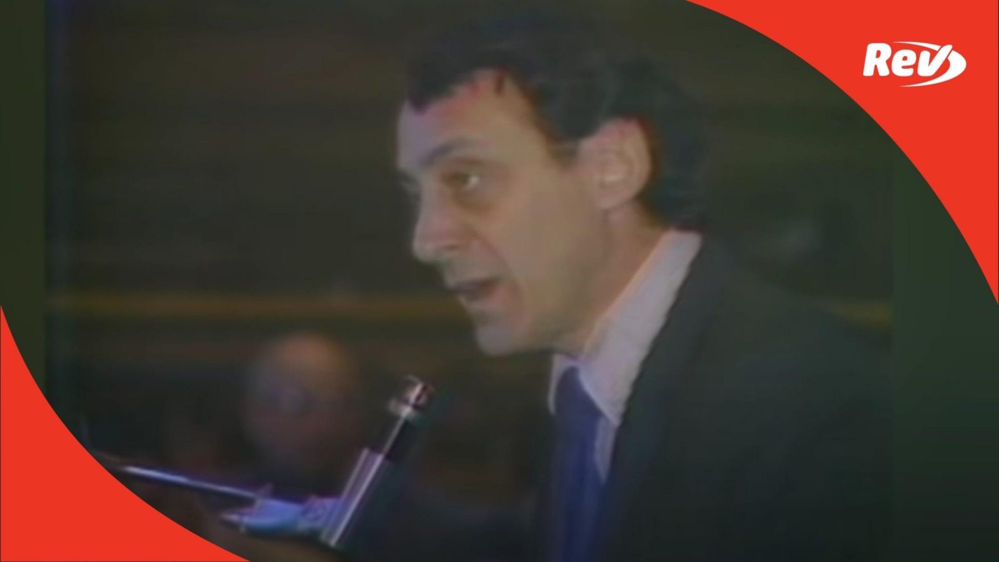 "Harvey Milk Speech Transcript: ""You Cannot Live on Hope Alone"""