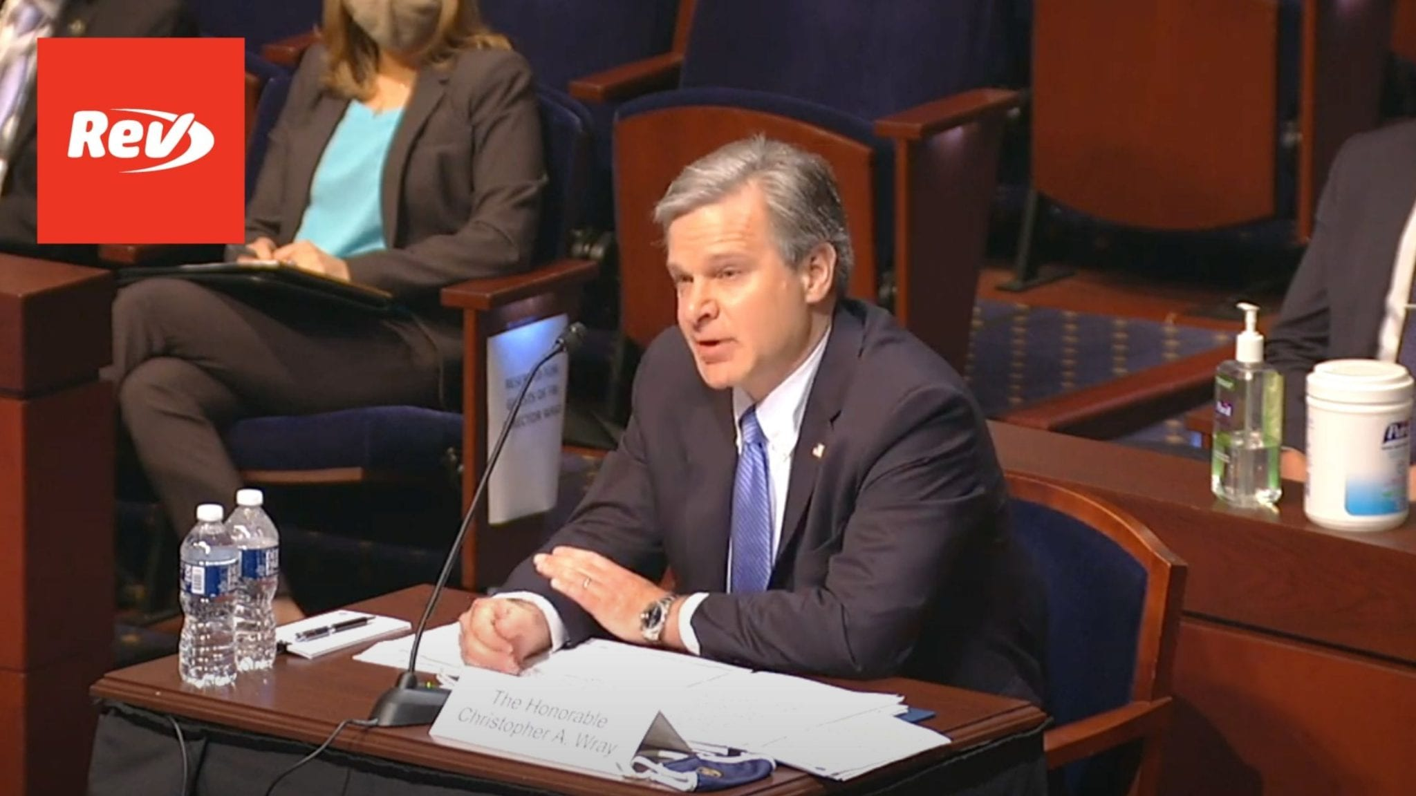 FBI Director Chris Wray Opening Statement House Hearing Transcript June 10