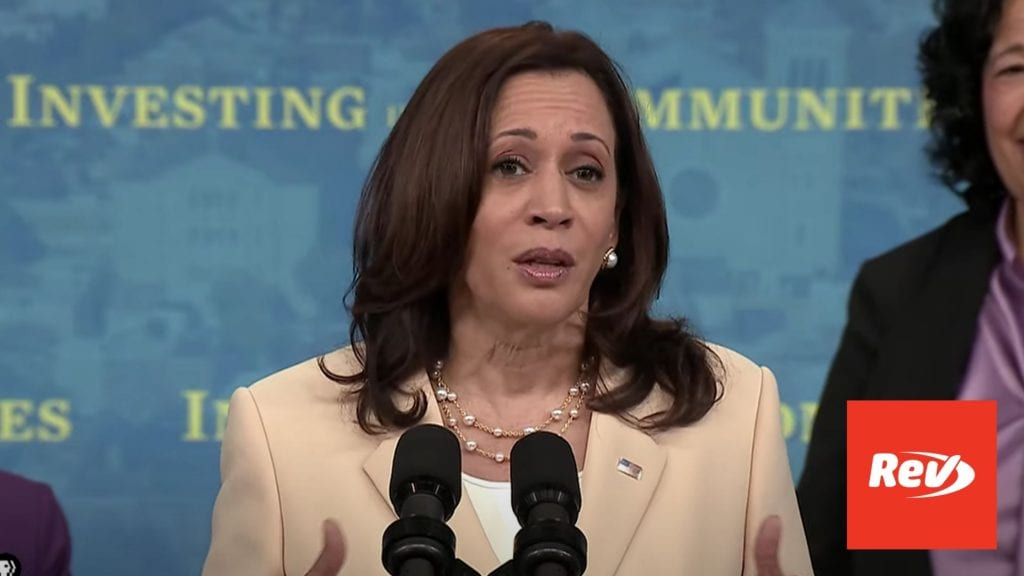 Kamala Harris, Janet Yellen Providing Capital to Small Businesses Speech Transcript