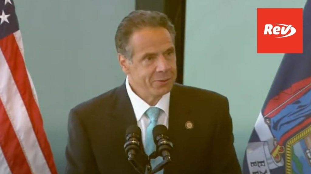 New York Gov. Andrew Cuomo COVID-19 Press Conference Transcript June 15