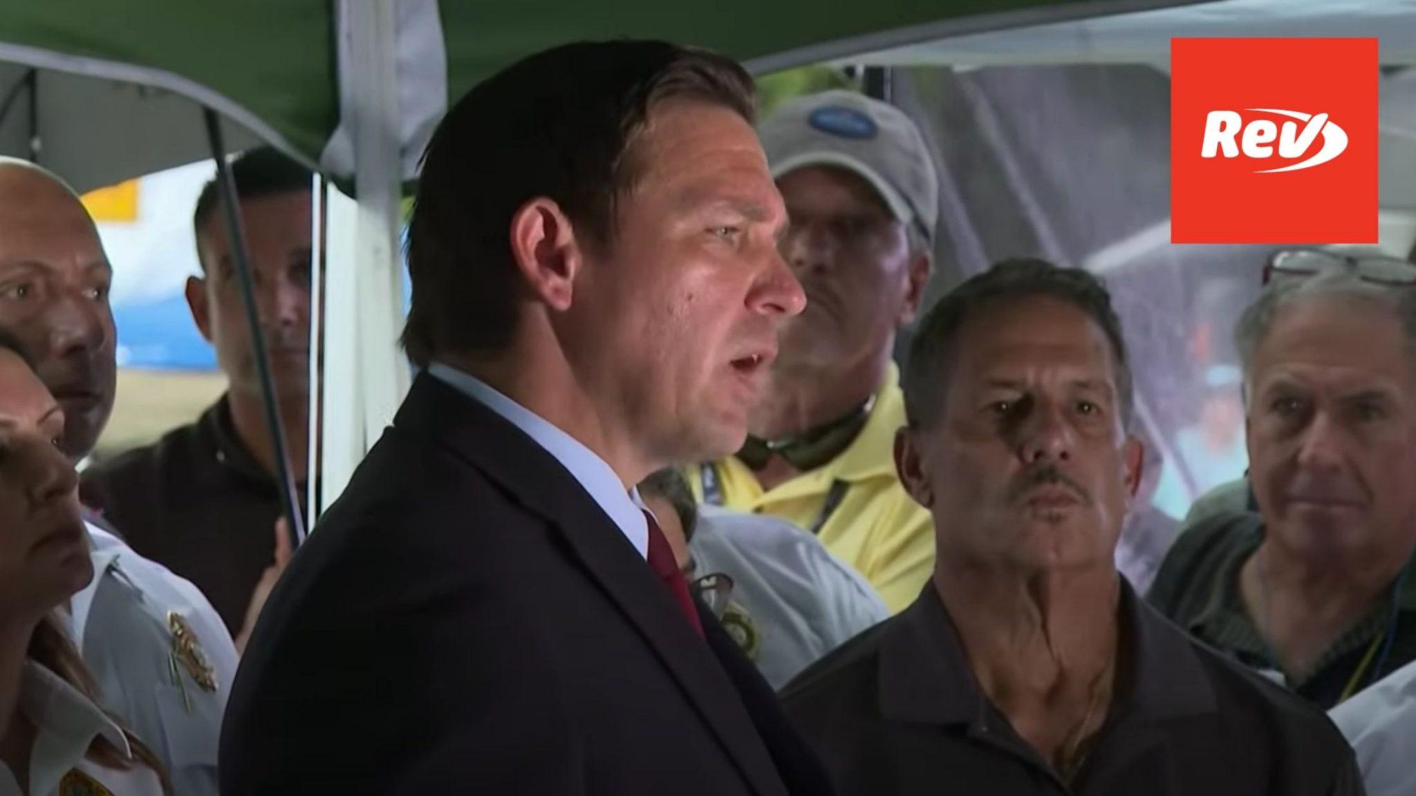 Surfside, FL Condo Collapse Press Conference Transcript June 28