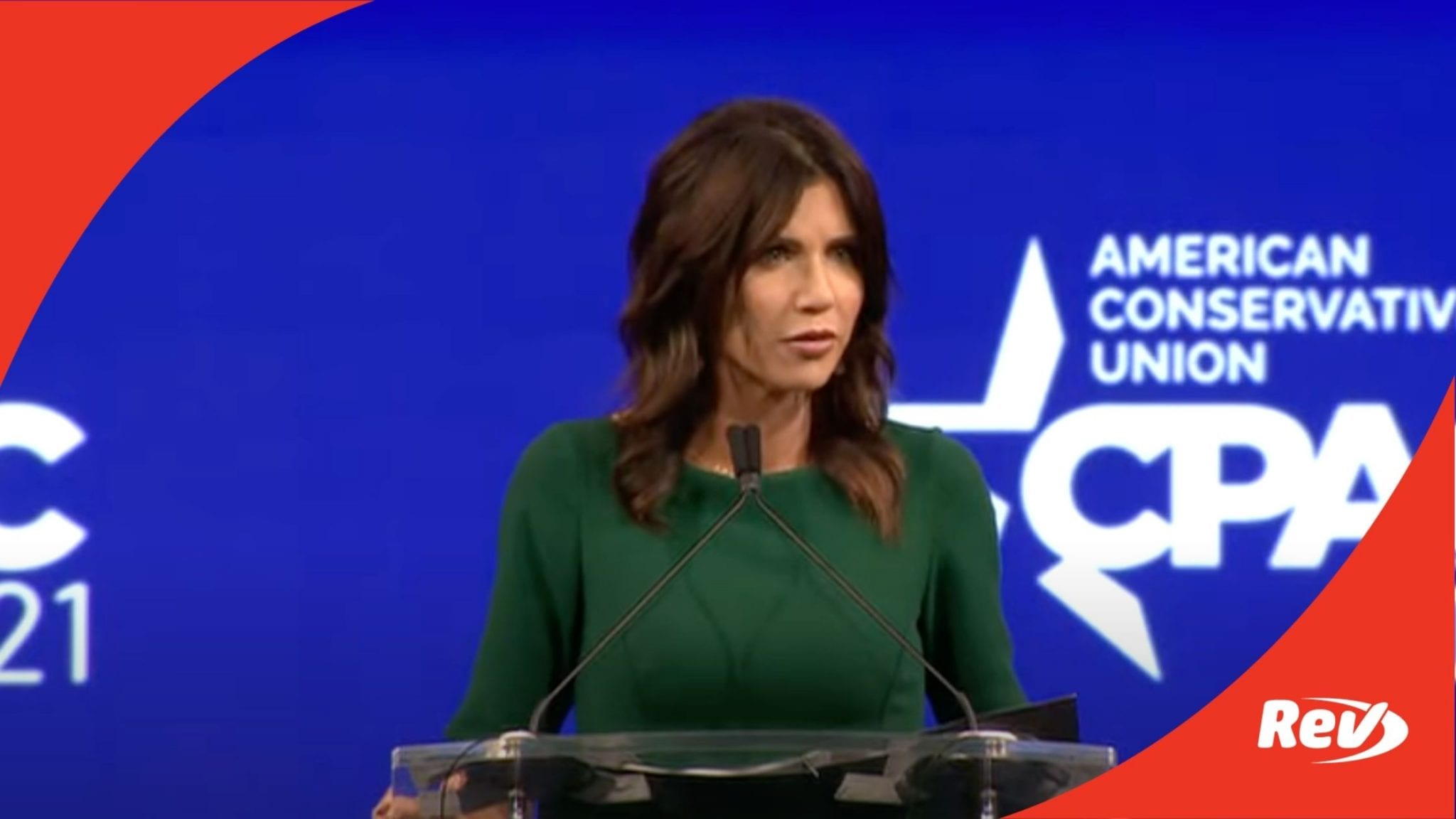 Kristi Noem CPAC 2021 Speech