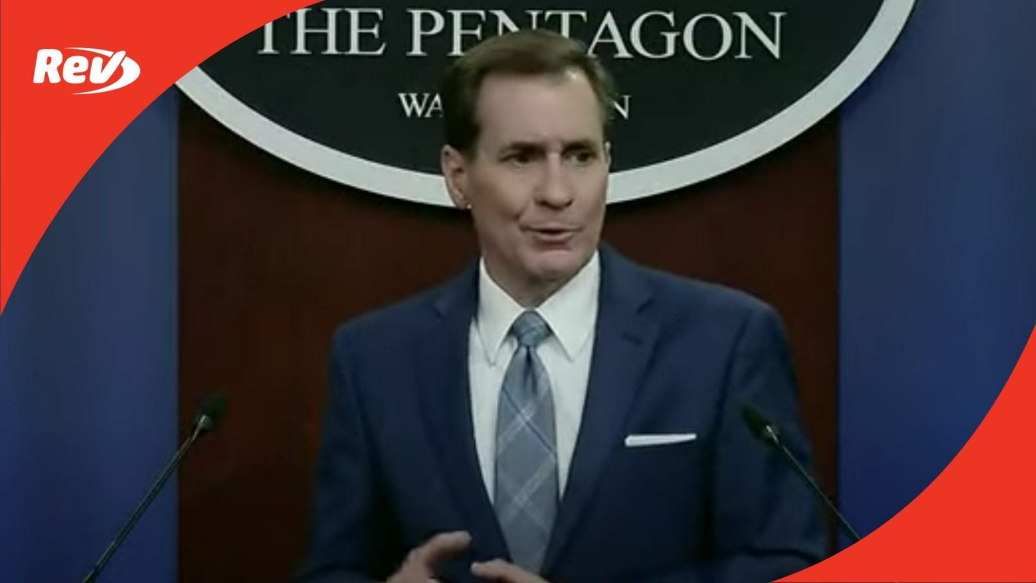 Pentagon Press Secretary John Kirby Press Briefing Transcript: Troop Withdrawal From Afghanistan