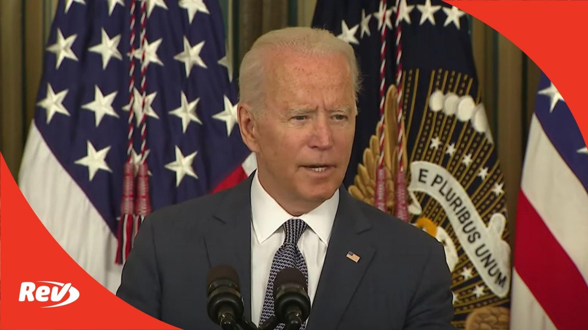 Joe Biden Signs Executive Order Promoting Competition in U.S. Economy Speech Transcript