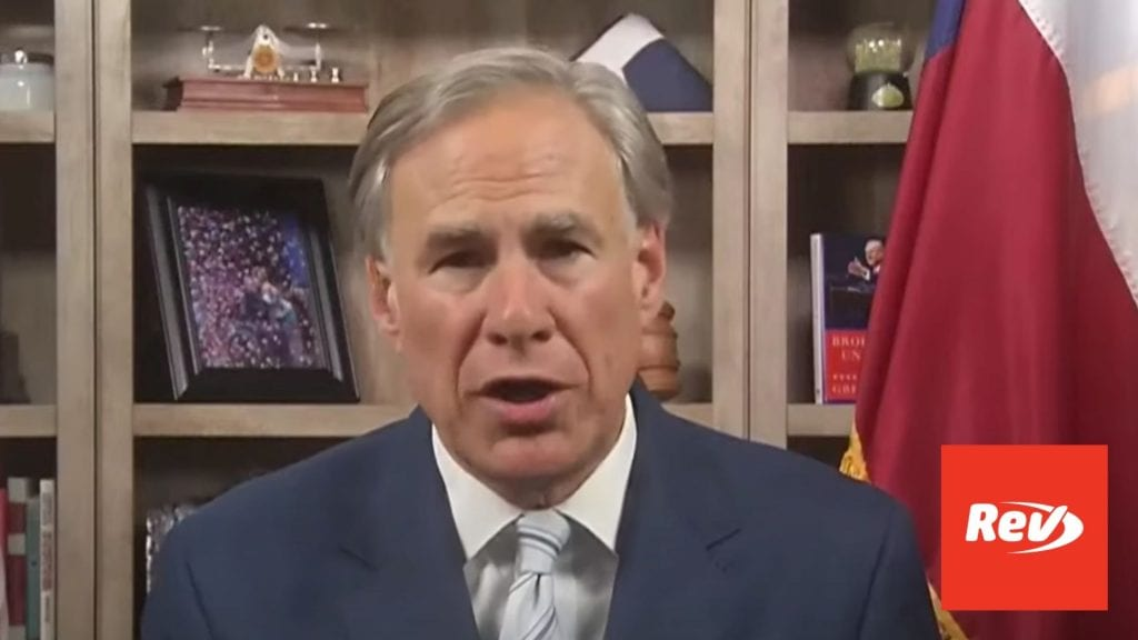 Texas Gov. Greg Abbott Interview Transcript: Democratic Lawmakers Will Be Arrested Upon Return to Texas