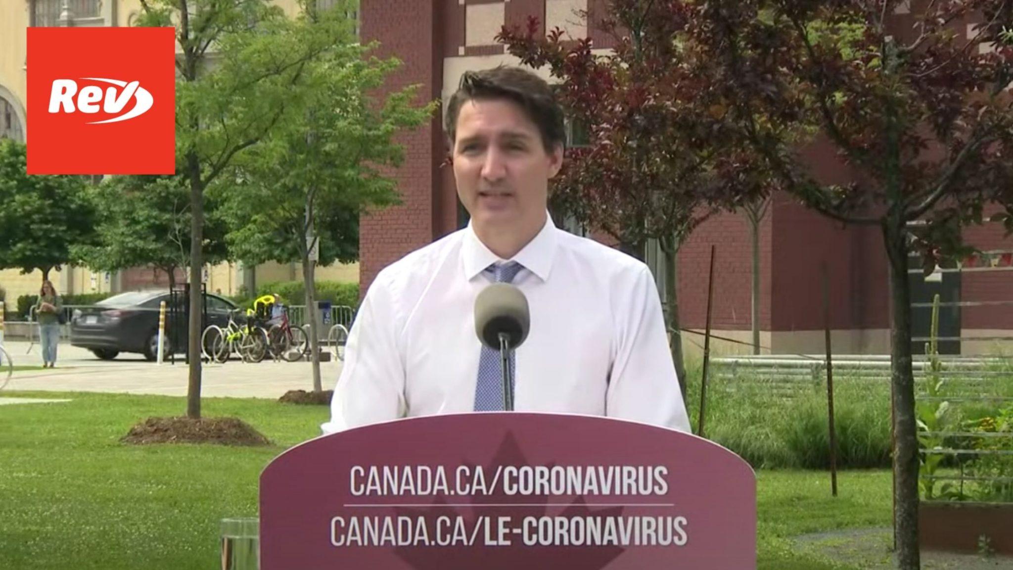 Justin Trudeau Canada Heat Wave Press Conference Transcript