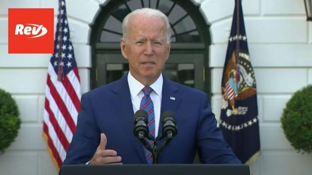 Joe Biden July 4 2021 Independence Day Speech Transcript