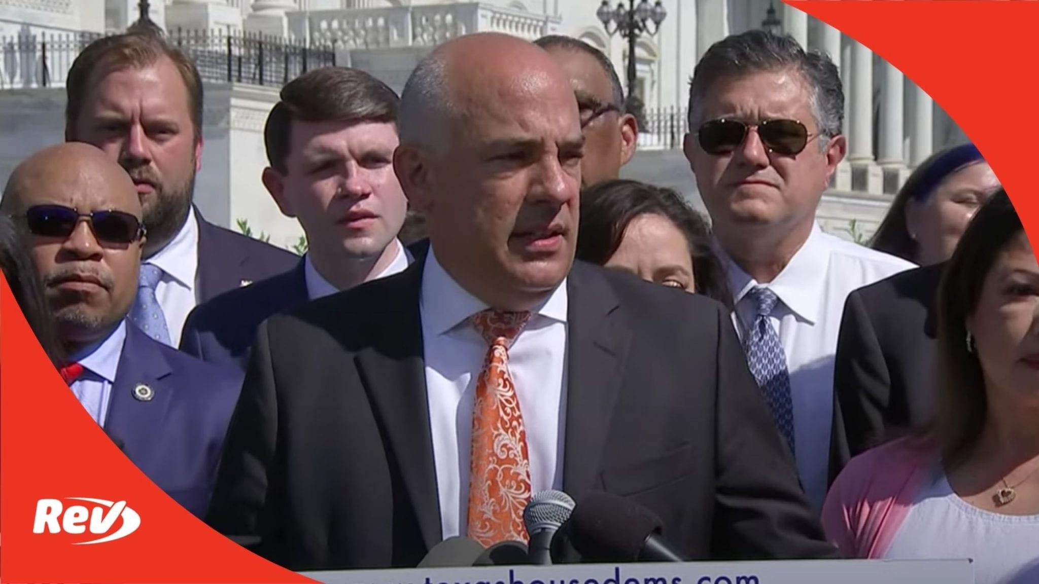 Texas Democrats Press Conference on GOP Election Bill Transcript