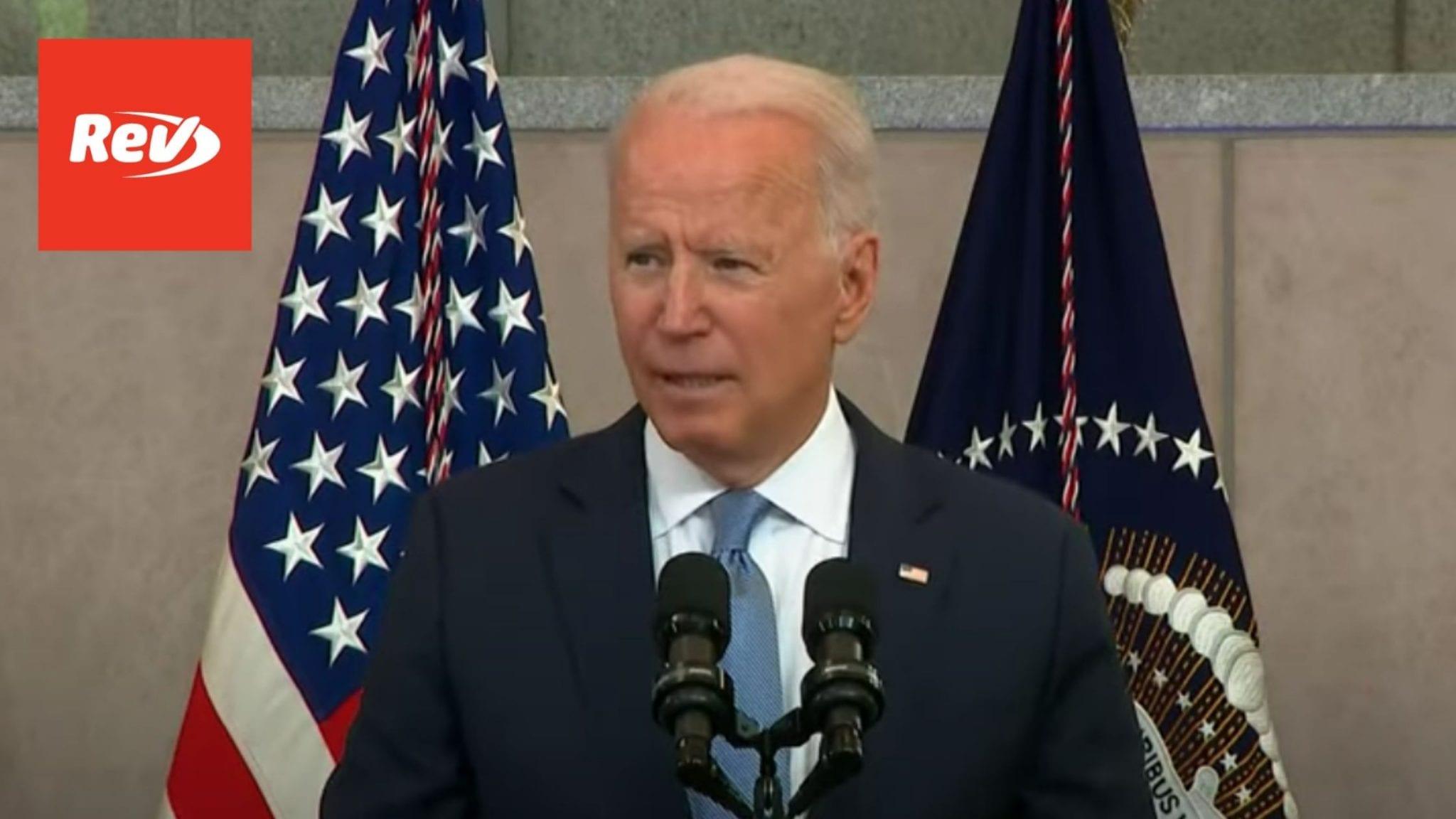 Joe Biden Voting Rights Speech Transcript July 13