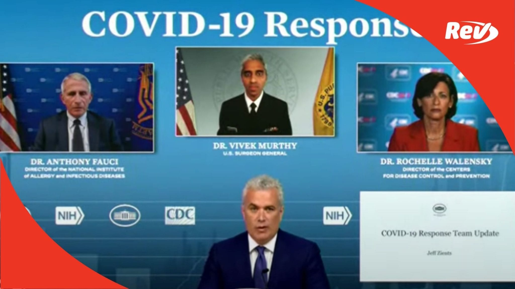 White House COVID-19 Task Force, Dr. Fauci Press Conference Transcript July 16