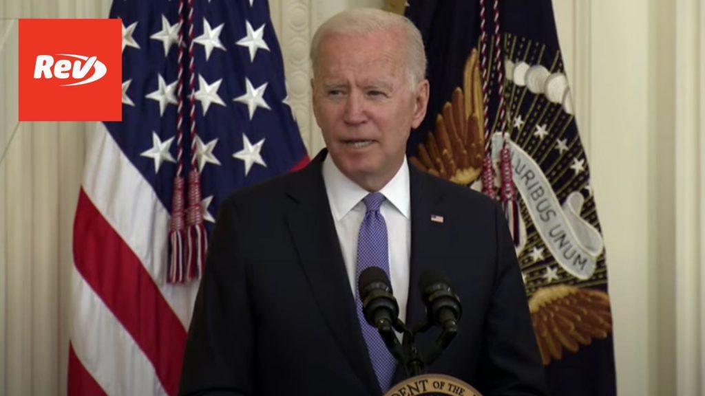Joe Biden Signs Victims of Crime Act Fix Into Law Speech Transcript