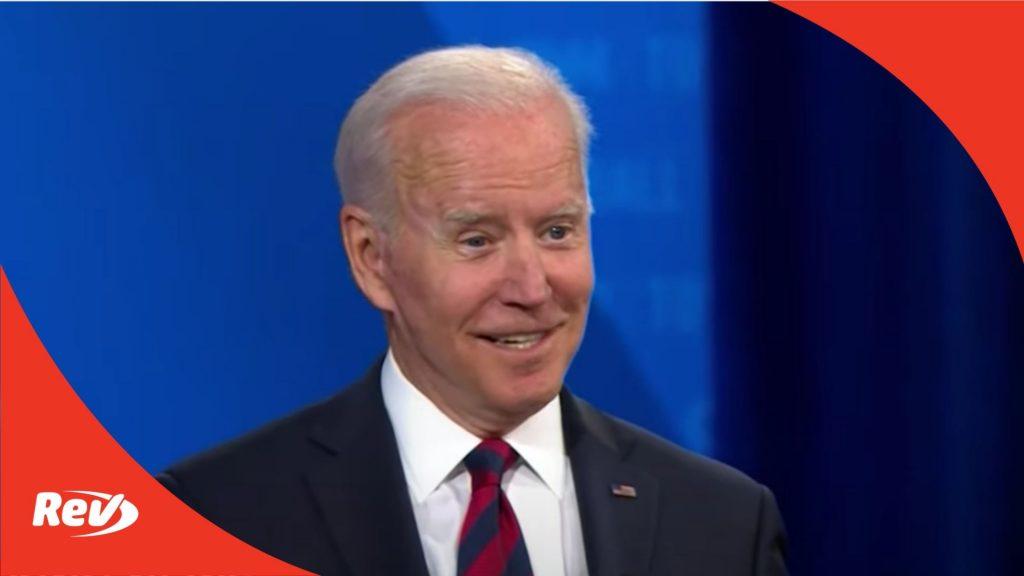 Joe Biden CNN Town Hall Transcript July 21
