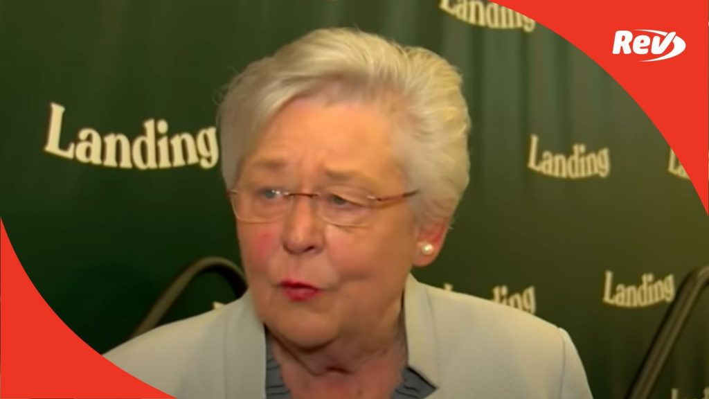 """Alabama Gov. Kay Ivey Transcript: """"Time to Start Blaming the Unvaccinated Folks"""""""