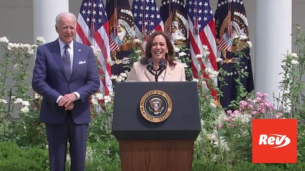 Joe Biden & Kamala Harris Anniversary of Americans with Disabilities Act Speech Transcript