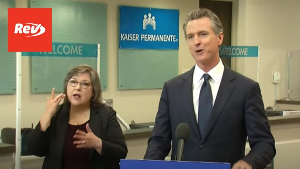 Gavin Newsom Press Conference: Announces Vaccine, Testing Mandate for State Employees