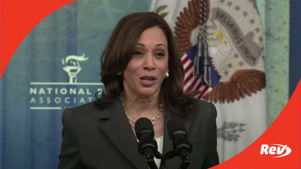 Kamala Harris National Bar Association Speech Transcript: Voting Rights