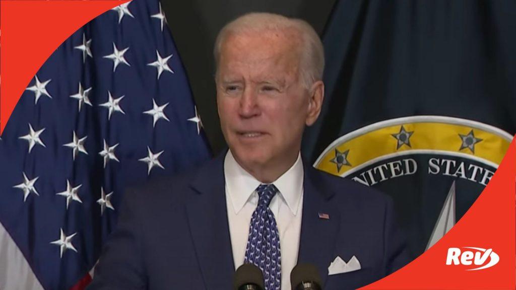 Joe Biden Speech to Intelligence Community Workforce Transcript