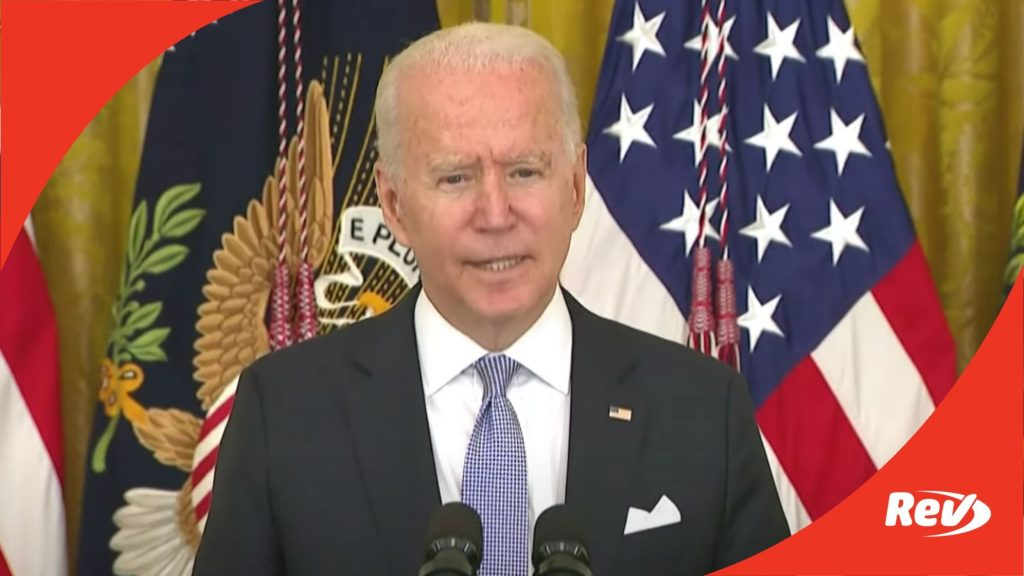 Joe Biden Announces Vaccine, Testing Mandate for Federal Workers Speech Transcript