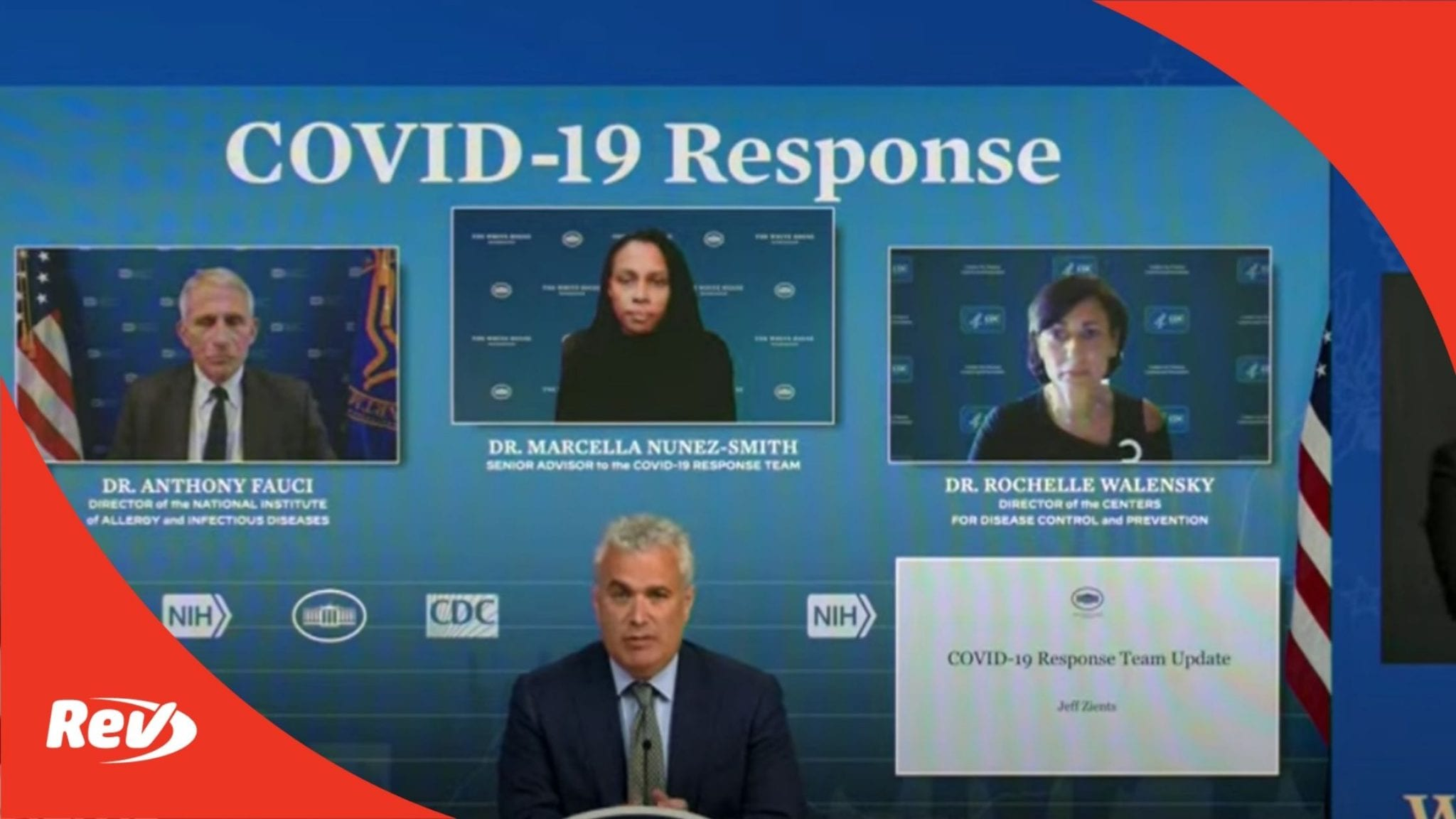 White House COVID-19 Task Force, Dr. Fauci Press Conference Transcript July 8