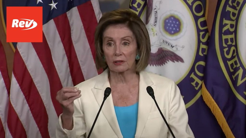 Nancy Pelosi Introduces Jan. 6 Committee Members Press Conference Transcript
