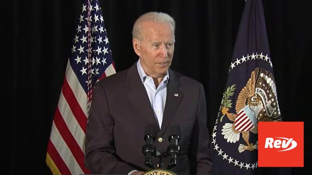 Joe Biden Speech on Florida Condo Building Collapse Transcript