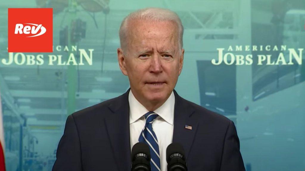 Joe Biden June Jobs Report Speech Transcript