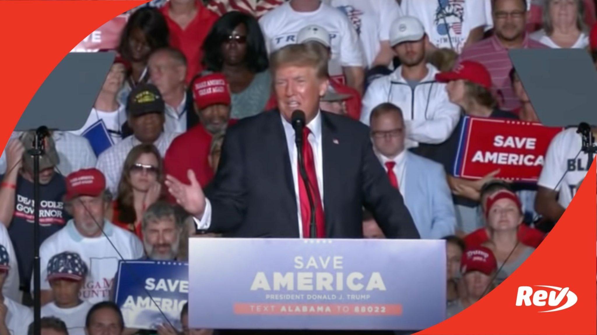 Donald Trump Alabama Rally August 21