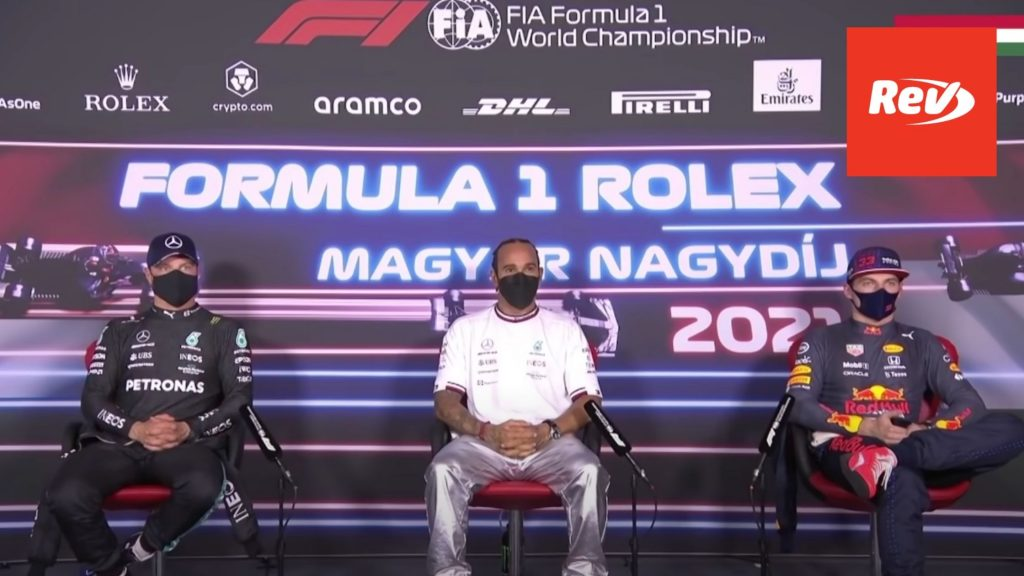 F1 2021 Hungarian GP - Post-Qualifying Press Conference
